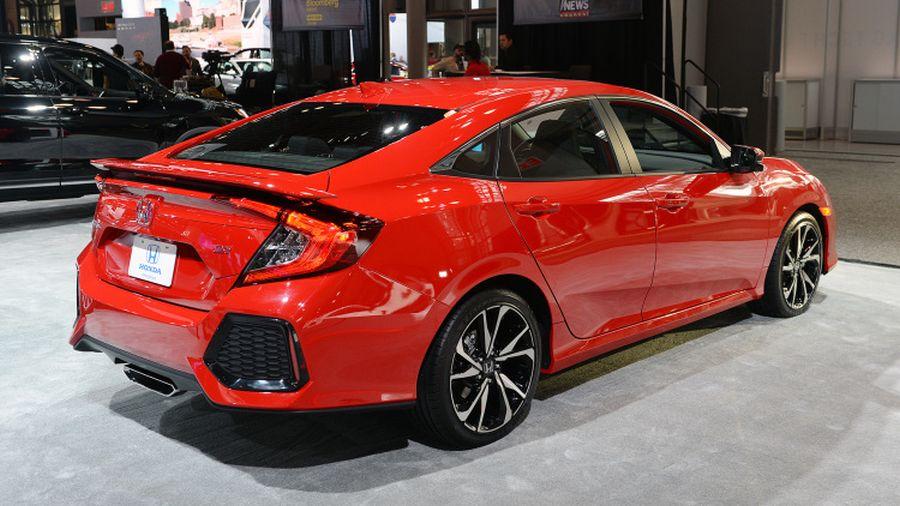 2018 Honda Civic Si Sedan 2